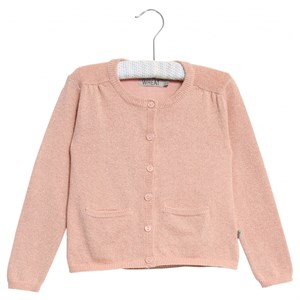 Wheat - Strik Cardigan Ibi, Misty Rose