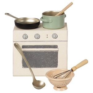 Maileg - Madlavningssæt / Cooking set