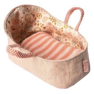 Maileg - My Carry Cot / Babylift, Rose