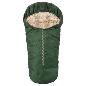 Maileg - Small, Sleeping Bag/Sovepose til mus, Green