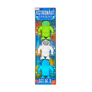 OOLY - Astronaut Erasers 3 stk.