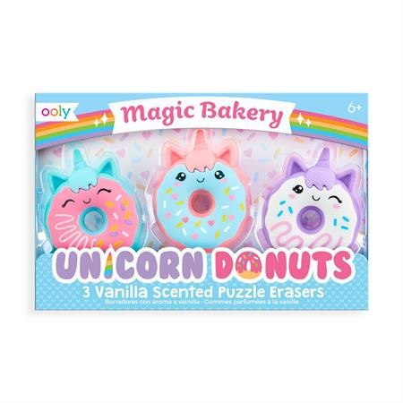 OOLY - Unicorn Donut Scented Erasers