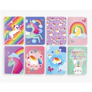 OOLY - Mini Pocket Pal Journals - Unicorn 1 stk.