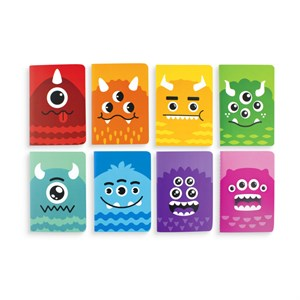 OOLY - Mini Pocket Pals Journals - Monster 1 stk.