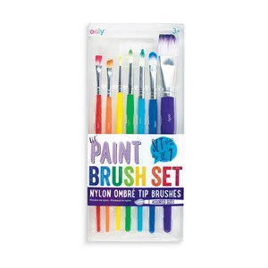 OOLY- Lil' Paint Brushes, Sæt m. 7 pensler