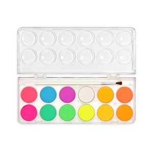OOLY - Chroma Blends Neon Watercolor Set, 12 Stk