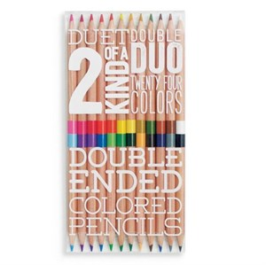 OOLY - Two Of A Kind Colored Pencils, Sæt med 12 stk.