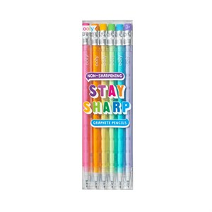 OOLY - Stay Sharp Pencils, 6 stk.