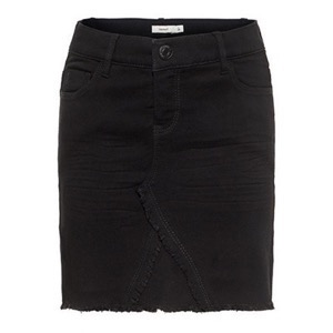 Name it - Salli Skirt, Black Denim