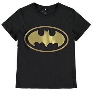 Name it - Batman Quan SS Top Wab, Black