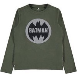 Name it - Batman LS Flip-over T-Shirt, Deep Depts