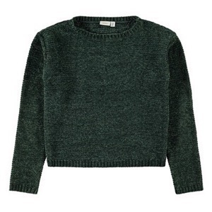 Name it - Lisia LS Strikbluse, Green Gables