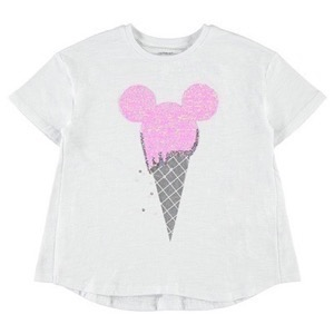 Name it - Minnie Unique SS Top, Bright White