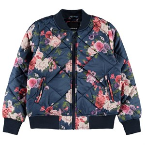 Name It - Marie Quilt Bomber Jacket, Dark Sapphire