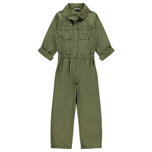 Name It - Dura Jumpsuit LS, Ivy Green