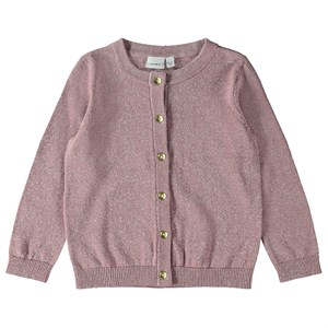 Name It - Tania LS Knit Cardigan, Woodrose