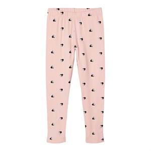 Name It - Minnie Mouse Leggings, Coral Blush