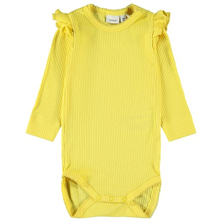 Name It - Francille Body LS, Aspen Gold