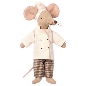 Maileg - Chef Mouse, Far
