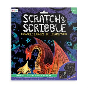 OOLY - Scratch & Scribble - Fantastic Dragons