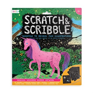 OOLY - Scratch & Scribble - Magical Unicorns