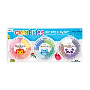 OOLY - Creatibles Air Dry Clay Kit