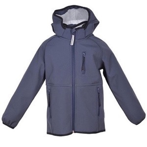Mikk-Line - Soft Shell Boys Jacket, Blue nights