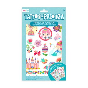 OOLY - Temporary Tattoos - Princess Garden