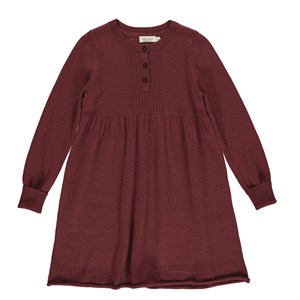 MarMar - Dahlia Light Cotton Wool Dress, Wine