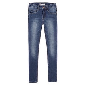 Levi's Kids - Girls 711 Skinny High Rise Jeans, Indigo