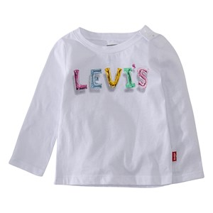 Levi's Kids - Graphic Kni T-shirt LS, White