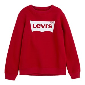 Levi's Kids - Boys Batwing Crewnec Sweatshirt, Levi's Red/White