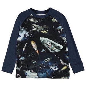 Molo - Ramiz Bluse LS, Space Traffic