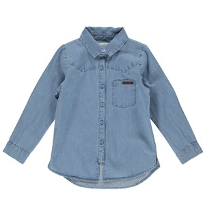 MarMar - Theo T-shirt, Mid Denim Blue