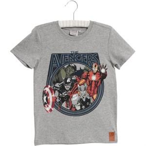 Wheat - Marvel T-shirt, Grey Melange
