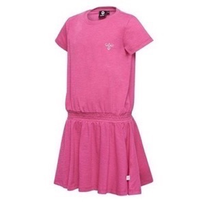 Hummel - Frederikka Dress SS, Shocking Pink