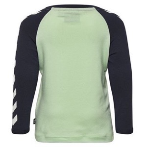 Hummel - Ryan T-shirt L/S, Birds Egg Green