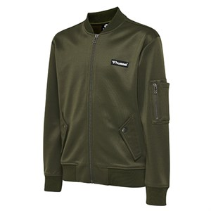 Hummel - Vig Zip Jacket, Olive Night