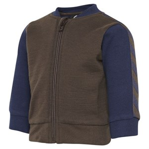 Hummel - Ivan Zip Jacket, Seal Brown