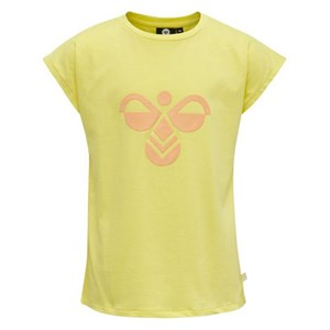 Hummel - Sunshine T-shirt SS, Limelight