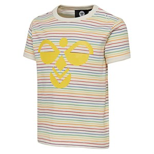 Hummel - Rainbow T-shirt, Whisper White