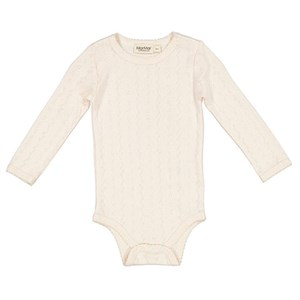 MarMar - Benedicte Modal Pointelle Body LS, Delicate Rose