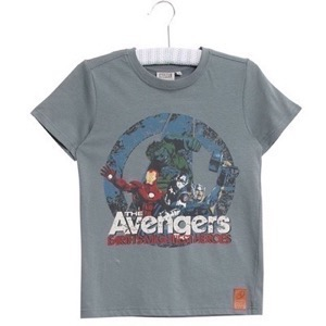 Wheat - Marvel Avengers T-shirt SS, Petroleum