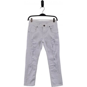 HOUNd - Pipe Jeans 7/8, White Denim