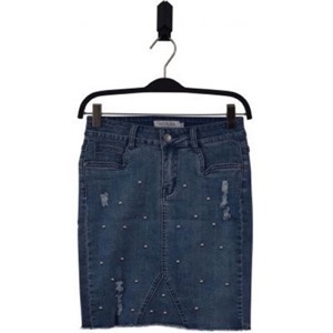 HOUNd Girl - Denim Skirt, Blue Denim