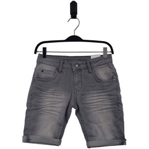 HOUNd - Straight Shorts, Grey Denim