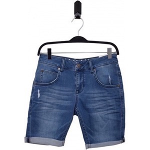HOUNd - Boys PIPE Jog Shorts, Trashed Blue