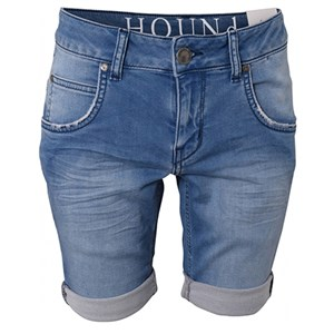 HOUNd - Pipe Jog Shorts, Light Used Denim