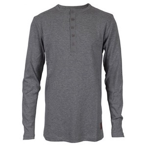 HOUNd - Boys Granddad L/S, Grey Mix