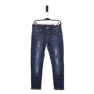 HOUNd - XTRA SLIM Ripped Semi Jeans, Blue denim